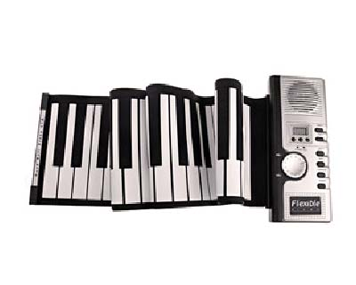 Portable Roll-up 61-Key Digital Piano