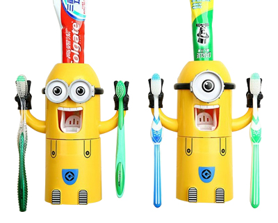 StreetDeal Home Decor Deal: Minions Automatic Toothpaste Dispenser