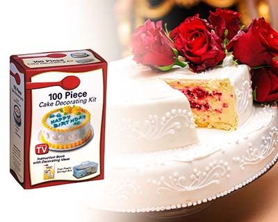 80% OFF Year-End Bulk Sales: 100PCS Cake Decorating Kit. Only RM9.90 instead of RM49....
