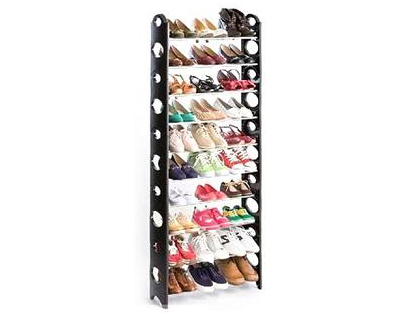 StreetDeal Home Decor Deal: 10-Layer Shoe Rack