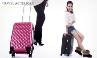 57% OFF Hard-sided Size 20-inch Travel Luggage Bag with 1-Yr Warranty. Available in 8 Colors. Free Delivery to Peninsula Malaysia.