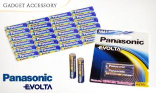 62% OFF Pack of 24-pcs Panasonic Evolta Alkaline AAA Batteries. Free Delivery Nationwide.