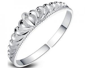 925 Silver Stubbornly Persists Bangle