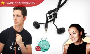 67% OFF Award-Winning Funky Tangle-Free Zipper Earphones by thumbsUp! UK. Available in 2 Vibrant Colors. Free Delivery to Peninsula Malaysia.