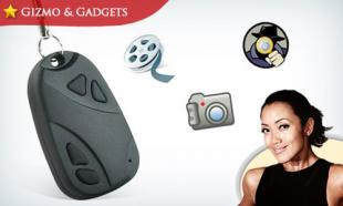 67% OFF 4-in-1 Car Keys Video Recorder Mini Camera + Mini USB Cable. Free Delivery to Peninsula Malaysia.