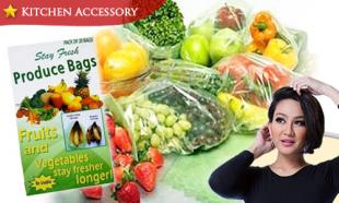 62% OFF Stay Fresh Produce Bags. Free Delivery Nationwide!