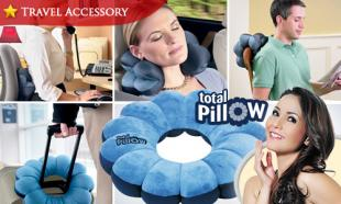 62% OFF Versatile & Adjustable Total Pillow for Travel, Home and Office. Free Delivery Nationwide.