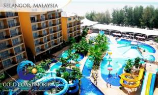 Royal Customers Yearly Bonus worth RM40 to be given away! 70% OFF Gold Coast Morib Weekday Promo for 2: 2D1N in Studio Suite with Private Bath & Jacuzzi + Buffet Breakfast + Buffet Dinner + Water Theme Park Admission.