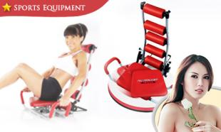 62% OFF Ab Rocket Twister Exerciser + Flex Master. 6-Month Warranty. Free Delivery to Peninsula Malaysia!