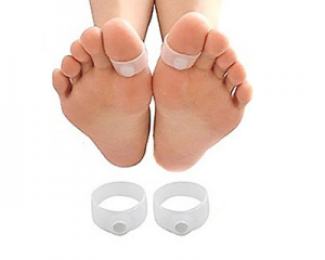 Slimming Magnetic Toe Rings (3 Pairs)
