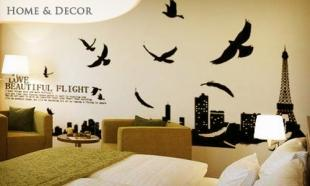 34% OFF Lifestyle Wall Sticker The Love Beautiful Flight. Free Delivery to Peninsula Malaysia!