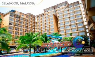 77% OFF Gold Coast Morib Early Bird Promo for 2: 2D1N in Studio Suite with Private Bath & Jacuzzi + Water Theme Park Admission. 