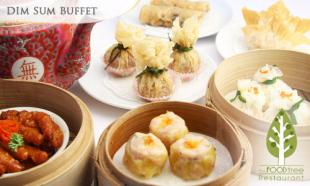 [Up to] 48% OFF All You Can Eat Dim Sum Buffet + Free Flow of Chinese Tea. Choose (1 pax) / (2 pax) / (6 pax) at TheFOODtree, Glenmarie. 
