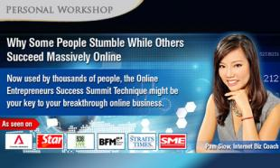 99% OFF Introductory Workshop To The Acclaimed Summit Technique By Internet Biz Owners Club: Learn Why Some People Stumble Online While Others Succeed - Massively. 