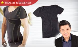 62% OFF Japan Mens Body Shaping Short Sleeve T-Shirt. Free Delivery to Peninsula Malaysia.