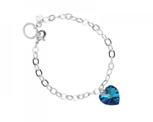 So Charm Paris Bracelet Made with Crystals From Swarovski