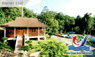 [Up to] 51% OFF Family Fun: Kota Tinggi Waterfalls Resort + Breakfast + Waterfalls Admission for 2 pax. Choose for  (2D1N) / (3D2N).