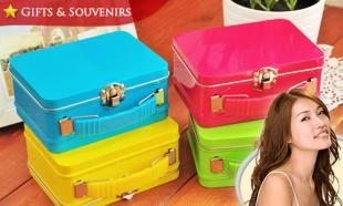 52% OFF Candy Color Vintage Suitcase Boxes! Comes in 4 Fresh & Vibrant Colors. Free Delivery to Peninsula Malaysia.