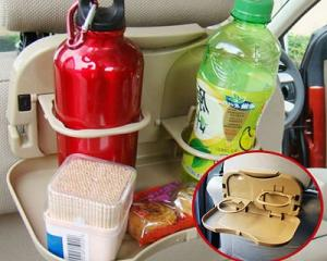 Car Collapsible Beverage Racks