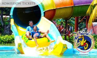 [Up to] 42% OFF Full Day Admission to Wet World Water Park Batu Pahat. Choose for RM8 (1 Child) /  RM14 (2 Child) / RM10 (1 Adult) / RM18 (2 Adults). Valid On School & Public Holidays.