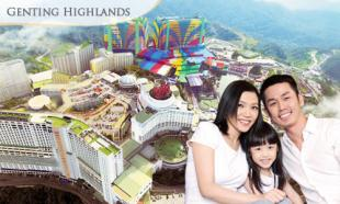 70% OFF Genting Highlands Family Holiday: 2D1N for up to 6 people in Genting View Resort Family Apartment. From RM15.90 per person per night.