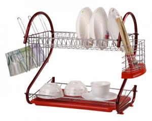 Two-Tier Dish Drainer