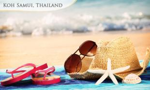 31% OFF 3D2N Koh Samui Sun & Beach: 2 Nights in 3-Star Chaba Samui Resort (or smilar) + Daily Breakfast + Round Trip Airport Transfer + Full Day Coral Island Tour with Lunch. 