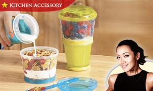 54% OFF Cereal On-The-Go Twist-Off Cereal Container. BPA-Free. Available in 3 Colors. Free Delivery Nationwide.