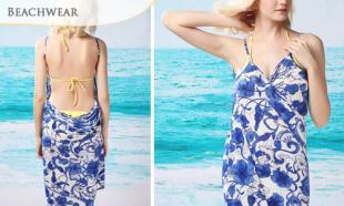 71% OFF Sexy Beach Wraparound Backless Bikini Dress. Available in 6 Designs. Free Delivery to Peninsula Malaysia.