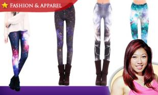 71% OFF Street Fashion Star Graffiti Leggings. Available in 3 Striking Colors. Free Delivery to Peninsula Malaysia.