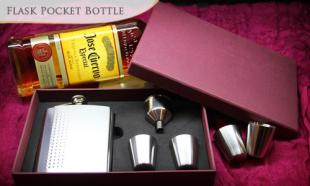 55% OFF 7oz Stainless Steel Hip Flask Pocket Bottle. Free Delivery to Peninsula Malaysia!