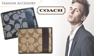 60% OFF Authentic Coach Wallet for Men. Free Delivery to Peninsula Malaysia!