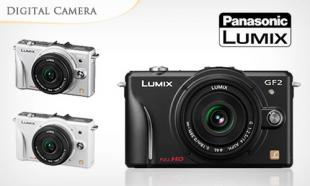 57% OFF Panasonic LUMIX GF2C 12.1 Megapixel DSL Micro Compact System Camera 14 mm Lens Kit + 1-Yr Warranty! Only RM999 instead of RM2299. Nationwide Delivery Available. [Valid for Pick Up @ 4 CamWorld Outlets]
