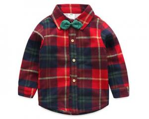 Korean Style Children Smart Shirt