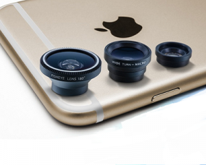 3-Piece Camera Lens Kit for Apple iPhone