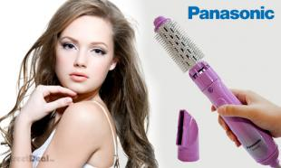 [Up to] 58% OFF Panasonic EH-KA22 Hair Styler with 2 Attachments: Roller Brush & Nozzle! 1-Year Warranty. Free Delivery to Peninsula Malaysia.