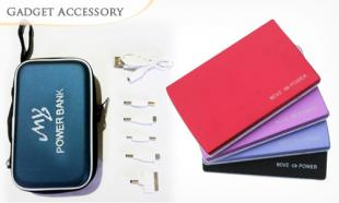 77% OFF Portable 30,000mAh Powerbank + Compartment Bag + 1-Year Warranty. Available in 4 Colors. Free Delivery Nationwide.
