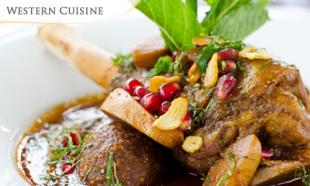 May Special! 40% OFF Lamb Shank for Lunch or Dinner at Cafe Royale & Bar, The Royale Bintang Kuala Lumpur.