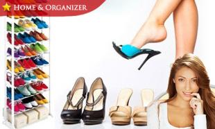 52% OFF 10-Level Space-Saving & Sturdy Shoe Rack with Stainless Steel Tubes. Free Delivery within Peninsula Malaysia!