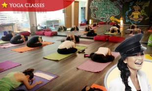 57% OFF 5 Yoga Classes + 1 Free Yoga Class: Beginners, Intermediate & Advanced at Yogaonethatiwant Studios, Damansara Perdana.