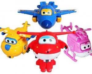 Super Wings Robot Set