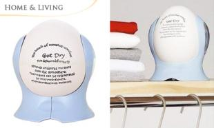 50% OFF Eco-Friendly, Safe and Re-Usable Air Dehumidifying Egg. Removes Excess Moisture From The Air. Free Delivery to Peninsula Malaysia!
