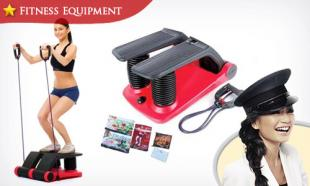 64% OFF Air Climber Exercise Stepper for Cardio, Toning and Abs. 1-Year Warranty. Free Delivery to Peninsula Malaysia.